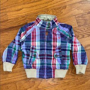 Ralph Lauren Polo reversible plaid/khaki jacket 2T